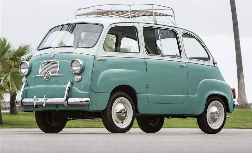 Первый минифэн Fiat фото