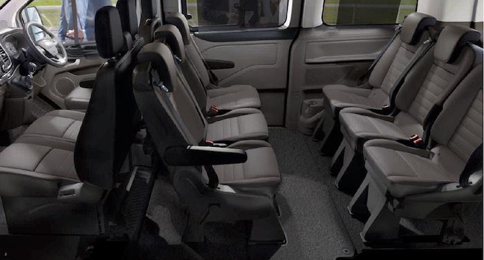 Форд Транзит интерьер фото