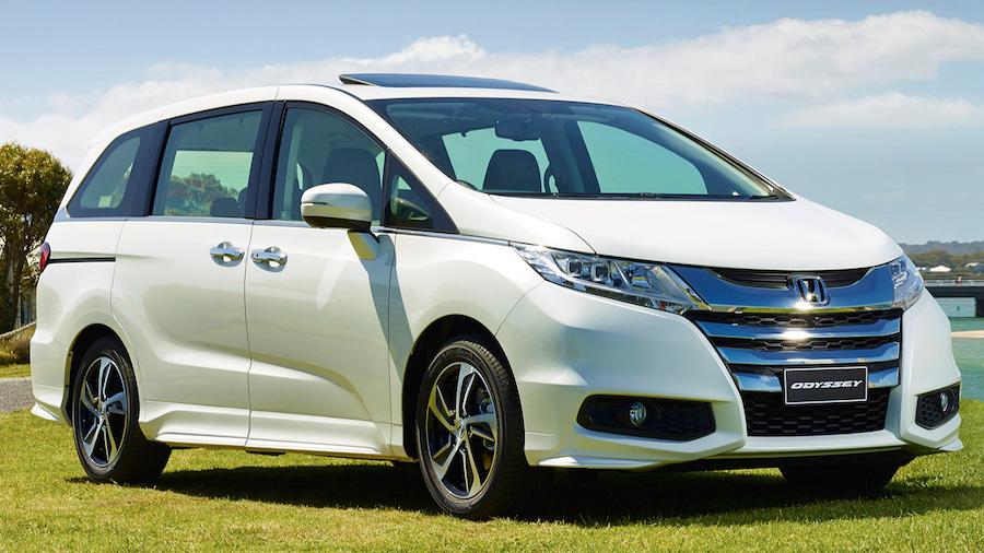 Минивэн Honda Odyssey фото